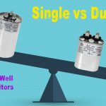Can you use two single capacitors instead of one dual capacitor?